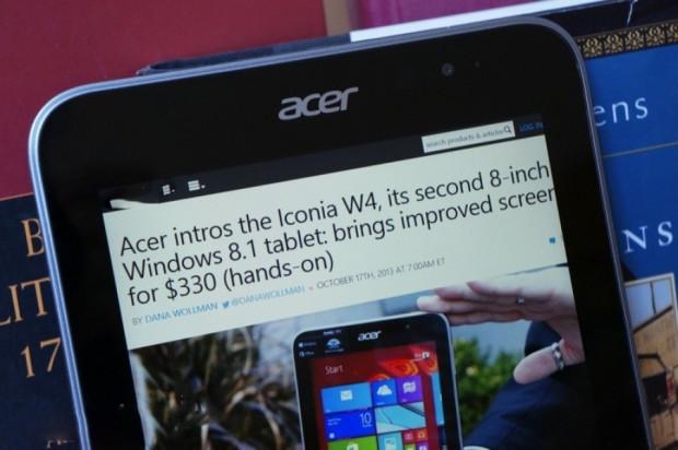 Acer Iconia W4 kutusundan çıkıyor! - Page 4