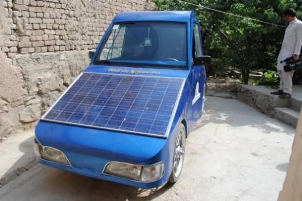 Afgan Mucit'in yaptığı araç hem elektrikli hem güneş enerjili - Page 4