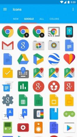 Ağustos ayı android yeni simgeler paketleri - Page 4