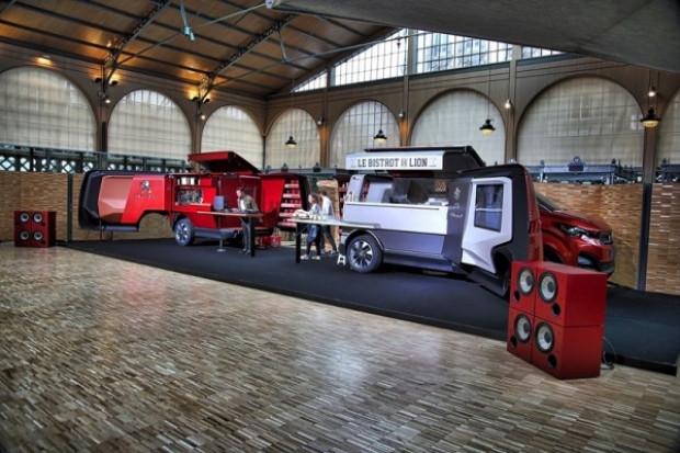Akıllara zarar gezen lokanta Peugeot Bistrot du Lion - Page 1