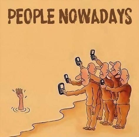 Akıllı telefonların hayatımızı ne hale getirdiğini anlatan 9 gerçekçi karikatür - Page 1