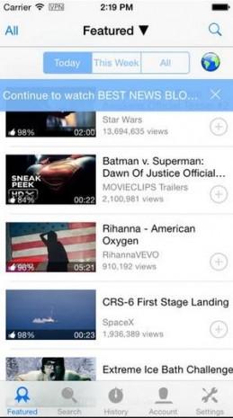 Alternatif YouTube uygulamaları - Page 2
