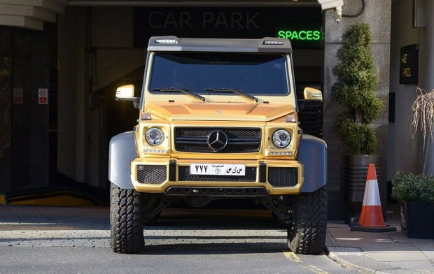 Altın kaplama lüks otomobiller - Page 3