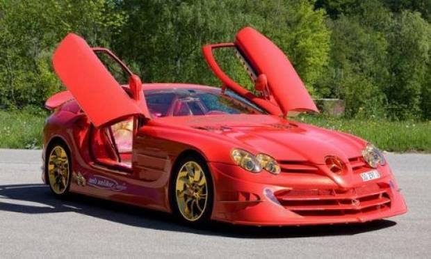 Altın kaplama Mercedes'in öyle bir özelliği var ki! - Page 1