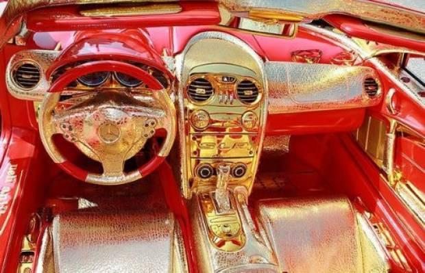 Altın kaplama Mercedes'in öyle bir özelliği var ki! - Page 2