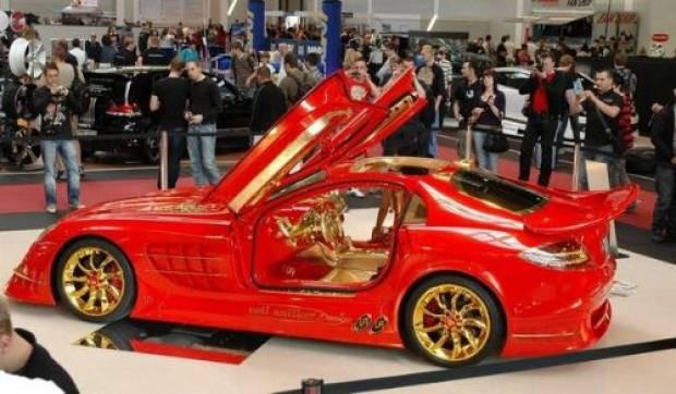 Altın kaplama Mercedes'in öyle bir özelliği var ki! - Page 3