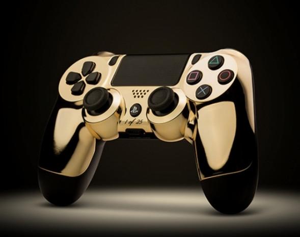 Altın Kaplama PS4 ve Xbox One oyun kolu - Page 1