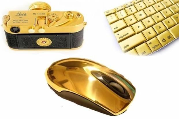 Altın kaplama teknolojik aletler! - Page 1