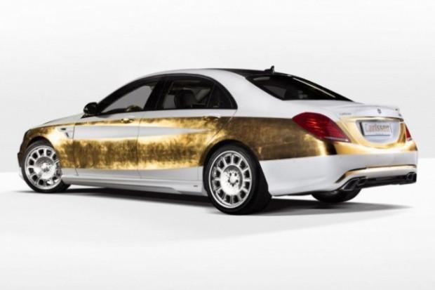 Altın Mercedes CS50 Versailles, 500 bin dolar! - Page 1