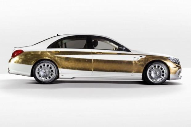 Altın Mercedes CS50 Versailles, 500 bin dolar! - Page 2