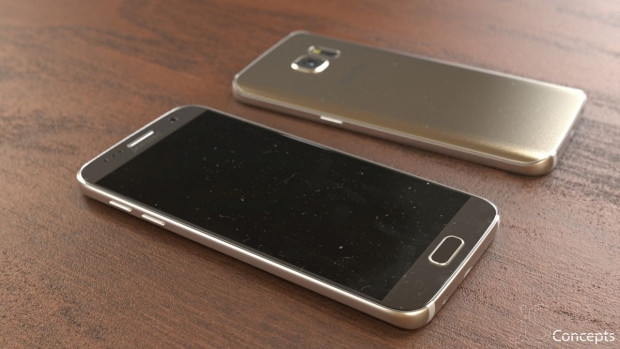 Altın renkli Samsung Galaxy S7 canlı göründü - Page 1