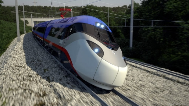 Amtrak'ın yeni yüksek hızlı treni - Page 1