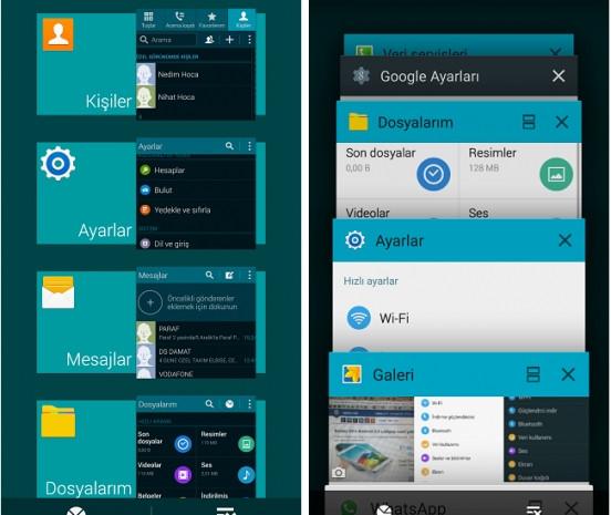 Android 4.4.2 ve Android 5.0 Yüklü Galaxy S5 karşılaştırması - Page 4