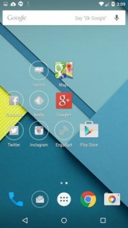 Android 5.0 Lollipop ekran görüntüleri - Page 1