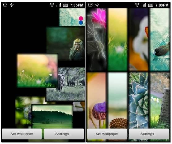 Android cihazlar için canlı duvar kağıtları - Page 4