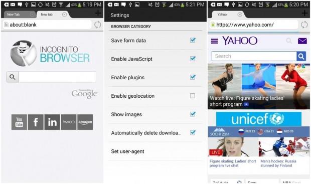 Android için en güvenilir 5 tarayıcı - Page 3