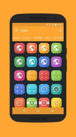 Android için öne çıkan ikon paketleri - Page 1