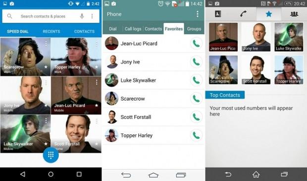 Android Lollipop-TouchWiz-Sense-LG ve Xperia arayüz karşılaştırması (Bölüm-2) - Page 1