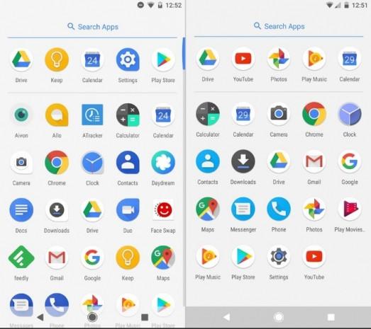 Android Oreo ve Android Nougat ekrtan karşılaştırma - Page 2