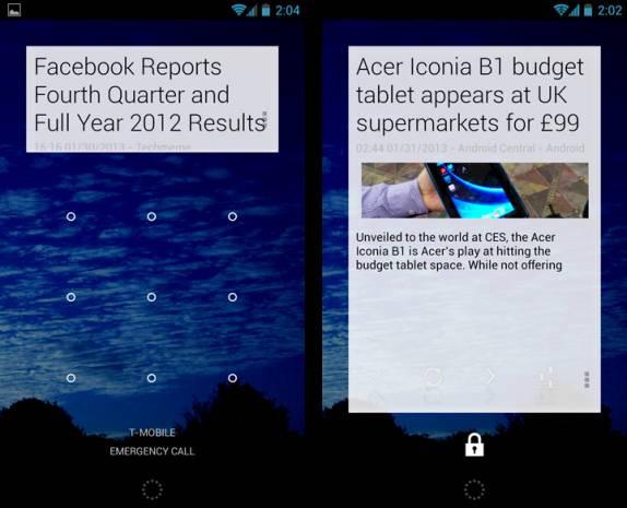 Android telefonlar için en iyi 20 Widget - Page 3