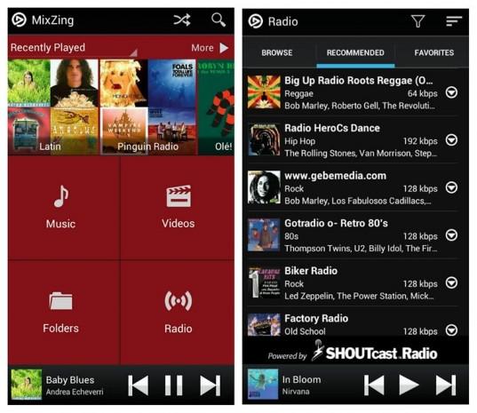 Android telefonlar için en iyi müzik çalar uygulamaları - Page 1