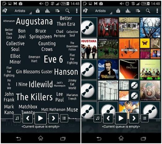 Android telefonlar için en iyi müzik çalar uygulamaları - Page 4