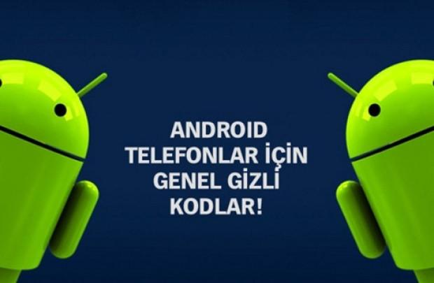 Android telefonların bilinmeyen faydalı kodları! - Page 2