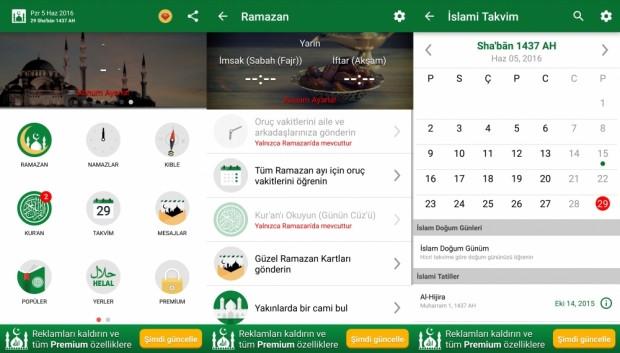 Android ve iOS için ramazan uygulamaları - Page 1