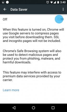 Android ve iOS'da Chrome'un veri tasarruf özelliği nasıl etkinleştirilir - Page 1