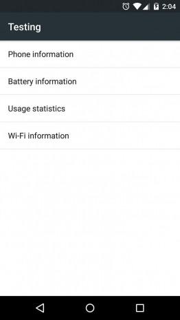 Android'in gizli menüsü - Page 4