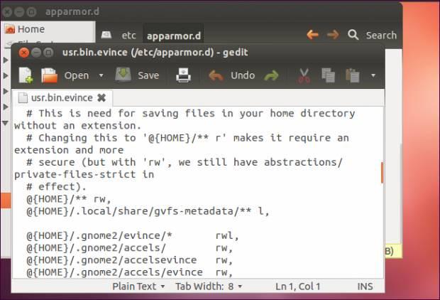 AppArmor ile Güvenlik İşlemi | Linux - Page 2