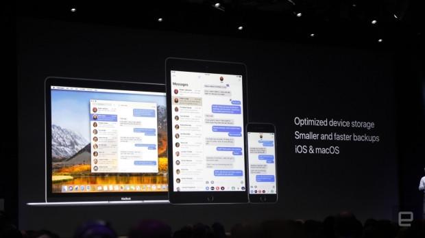 Apple iOS 11 tanıtımından ilk kareler - Page 1