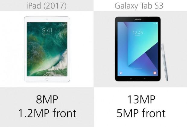 Apple iPad (2017) ve Samsung Galaxy Tab S3 karşılaştırma - Page 3