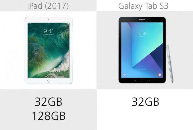 Apple iPad (2017) ve Samsung Galaxy Tab S3 karşılaştırma - Page 4