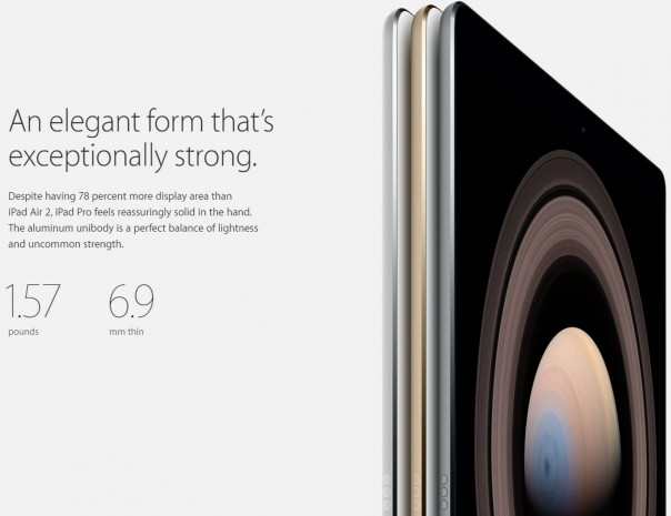 Apple iPad Pro'ya ait tüm resmi görseller - Page 1
