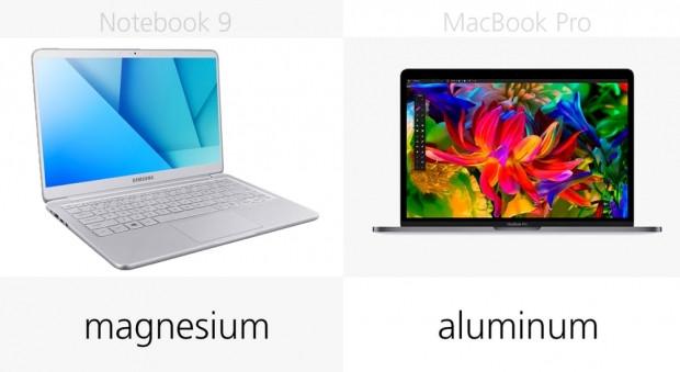 Apple MacBook Pro ve Samsung Notebook 9 13-inç karşılaştırma - Page 1