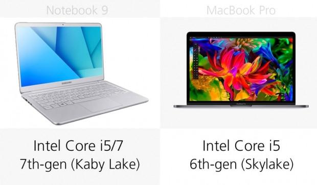 Apple MacBook Pro ve Samsung Notebook 9 13-inç karşılaştırma - Page 3