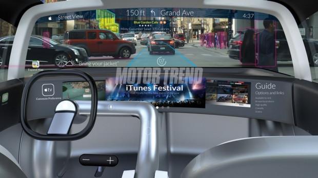 Apple otomobilin sızan özellikleri - Page 2