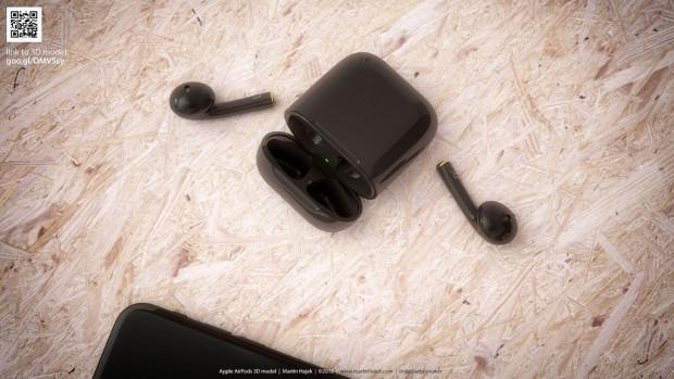 Apple, siyah AirPods yapsa nasıl görünürdü? - Page 4