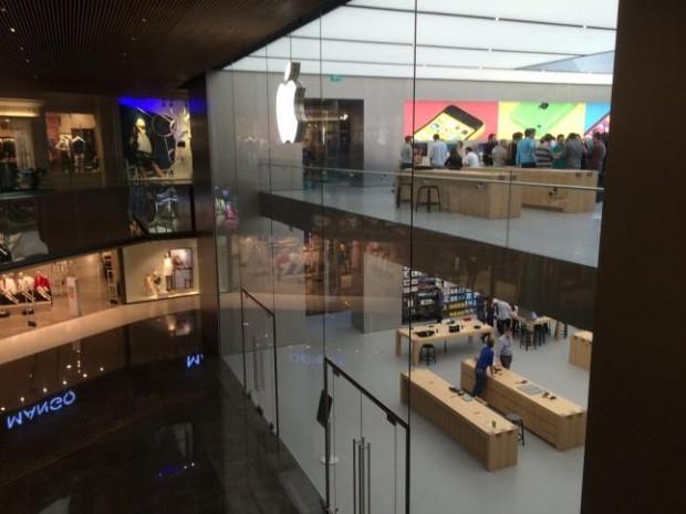 Apple Store Zorlu Center'ın ilk görüntüleri - Page 1