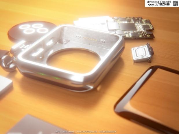 Apple Watch iç bileşenlerine ayrıldı! - Page 1