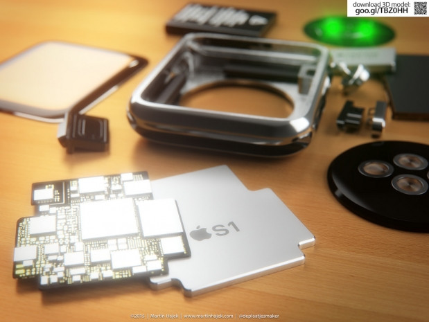 Apple Watch iç bileşenlerine ayrıldı! - Page 3