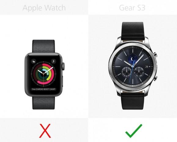 Apple Watch Series 2 ve Samsung Gear S3 karşılaştırma - Page 1