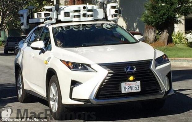 Apple'ın sürücüsüz arabası test sürüşünde göründü - Page 2