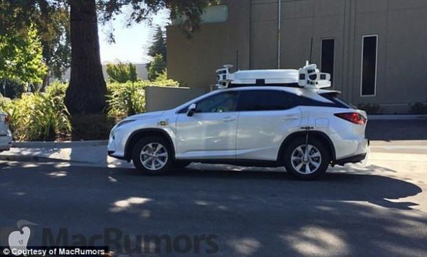 Apple'ın sürücüsüz arabası test sürüşünde göründü - Page 4
