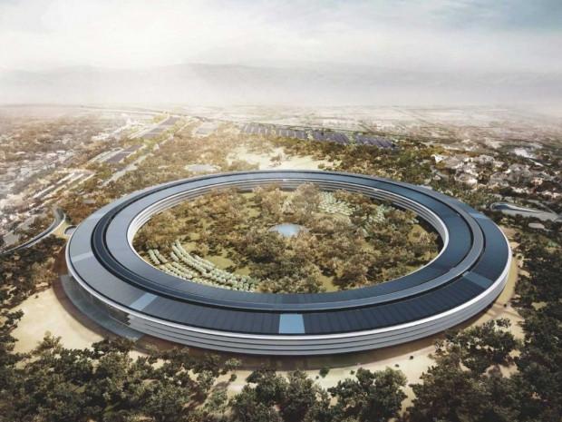 Apple'ın devam eden kampüsünün son hali - Page 1