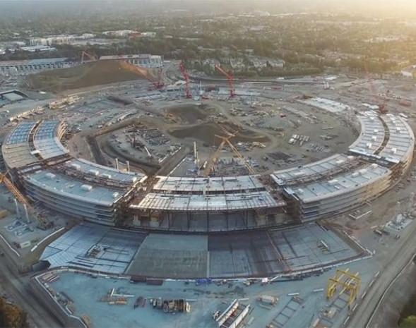 Apple'ın yeni merkezinden ilk kareler büyüledi - Page 1