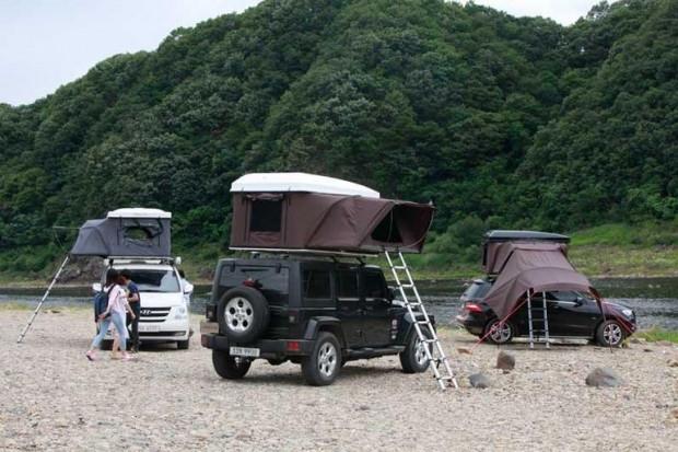 Araç üstü çadırlar kamp için tasarlandı - Teknoloji Foto ...
