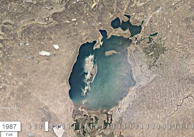 Aral Gölü'nün 32 yıllık değişimi - Page 2