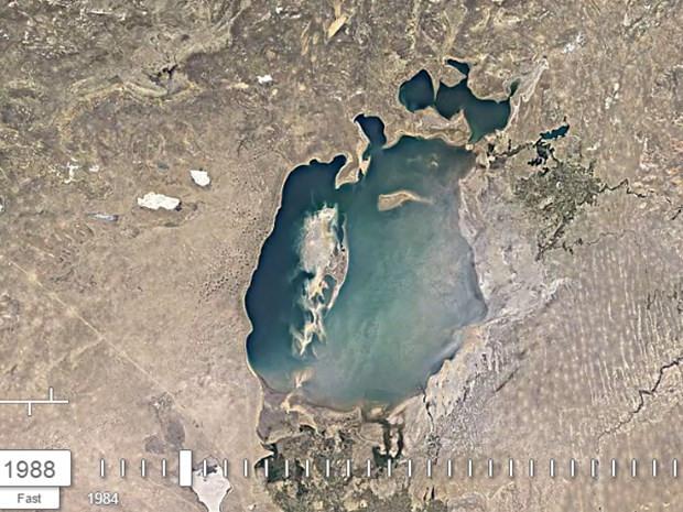 Aral Gölü'nün 32 yıllık değişimi - Page 3